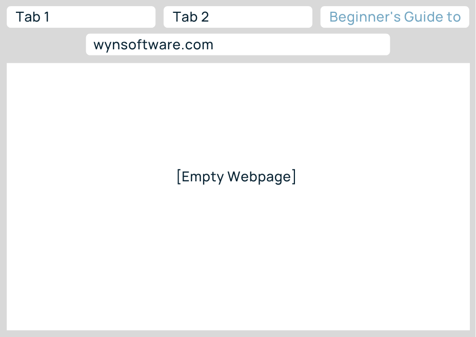Image displaying how a page title appears in browser